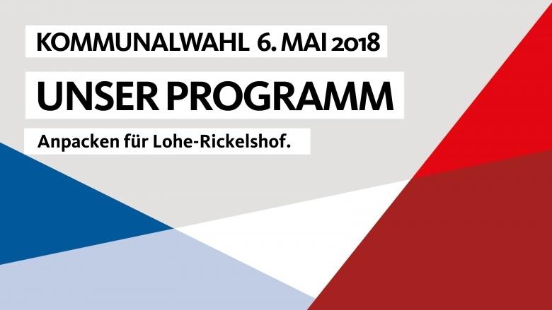 Wahlprogramm Lohe Rickelshof